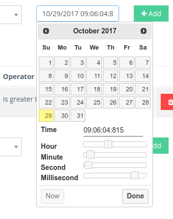 Date Picker Widget