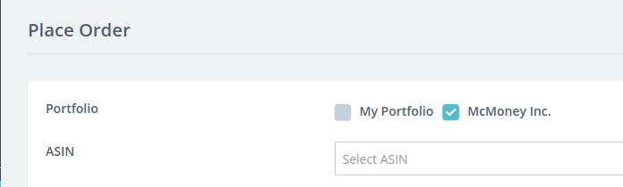 Corporate portfolio selected
