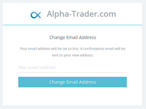 Change Email Page
